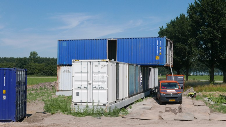 containers in oosterwold – oosterwold