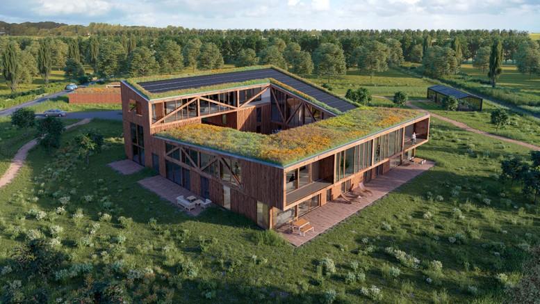 Lofthoeve oosterwold buiten wonen op een landgoed for Wonen op een landgoed